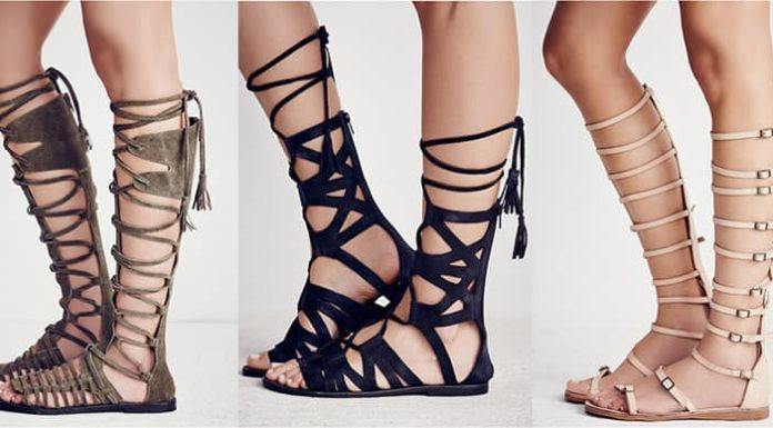 Sandale Gladiator – Cum se asortează modele şi Avantajele sandalelor tip gladiator