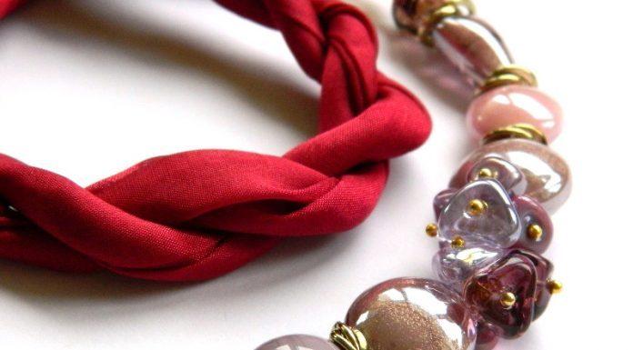 bijuterii vintaje murano